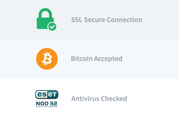 You are safe <br>  on Bitport